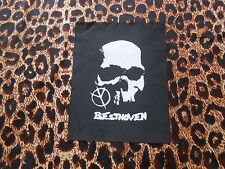 BESTHOVEN DIY PATCH/punk/crust/grind/brasil/ratos de porao/pantera/slayer/doom