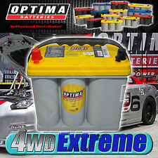 OPTIMA YELLOW TOP BATTERY 12 VOLT NEW AGM D51 450CCA DEEP CYCLE ALPINE PIONEER