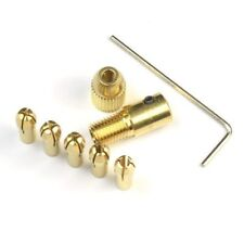 Micro Small Pin Vice DRILL CHUCK SET 5 Collets 0.5-3mm Repairers Watchmaker Tool