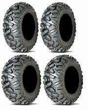 "2 - 25x8-12 & 2 - 25x9-12 GBC DIRT TAMER ATV UTV BIG HORN MUD TIRES 25"" SET - 4"