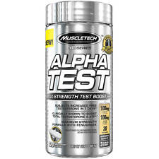 MuscleTech Pro Series AlphaTest Rapid-Release Dietary Supplement Capsules, 120ct