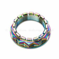 Ducati Panigale 1098 1198 S, 1199 S, 1299 S Rainbow Titanium Rear Wheel Axle Nut