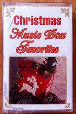 CHRISTMAS MUSIC BOX FAVORITES: HOLIDAY COLLECTION (1984) VINTAGE IMPORT CASSETTE