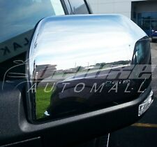 Chrome Top-Half Mirror Covers (2 Pieces Set) FOR 2015 2016 Ford F150 F-150 F 150