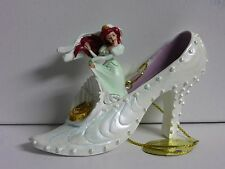 RARE Disney's PRINCESS SHOE ORNAMENT - WEDDING ARIEL from THE LITTLE MERMAID