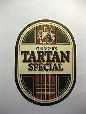 Younger's Tartan Special Beer Mat Original Scottish Ale United Kingdom UK