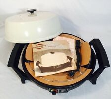 Vintage MCM West Bend Ovenette Oven Electric Cooker Baker Skillet Counter NEW