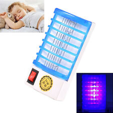 NEW Mini Mosquito Fly Bug Insect Trap Zapper LED Electric Killer Night Lamp 110V