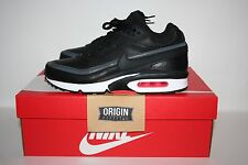 NIKE AIR MAX BW PREMIUM BLACK CRIMSON GREY UK7/US8/EU41 BNIB 819523-006