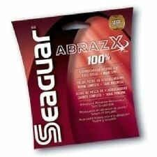 Seaguar AbrazX Fluorocarbon Line 17# 200yd Clear