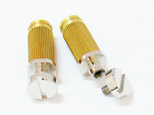 NEW Tone Pros SNS1-N LOCKING STUDS for Gibson USA Standard Tune-O-Matic Nickel