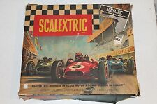 RARE Vintage SCALEXTRIC Slot Car Set #31 Made in England 1960's