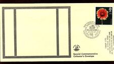 GB FDC 1987 Flowers, Chelsea Flower Show H/S #C10195