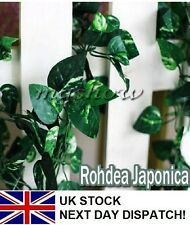 9.19ft Artificial Ivy Leaf Garland Plants Fake Foliage Flowers Home Decoration