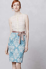 Anthropologie Beguile Byron Lars Fleur-De-Lys Lasercut Dress, BRAND NEW, Size 6