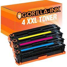 4 Toner XXL für HP Color Laserjet CP1215 CP1514N CP1515N CB540A-CB543A 125A