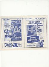 LOT STATE THEATER DEPOSIT NY MOVIE PROGRAM FLYER STEVE MCQUEEN JAMES GARNER7