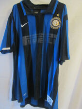 Inter Milan 2007-2008 Centenary Football Shirt Size Extra Large /22345
