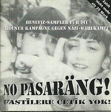NO PASARÄNG Sampler CD (1994 mit Slime, But Alive, Die Sterne, Die Regierung...)