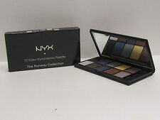 NYX 10 Color Eyeshadow Palette The Runway Collection color ESP10C01 Jazz Night