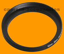 52mm to 58mm 52-58 Stepping Step Up Filter Ring Adapter 52-58mm 52mm-58mm