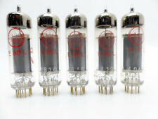 5 x Valvo E80l red label NOS 100% tested with Funke W20  (969*