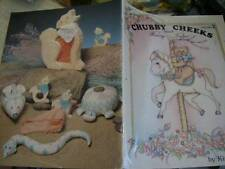 Chubby Cheeks & Beary Tales Painting Book #2-Mauro-Pueblo Children/Cactus/Cl