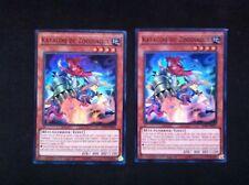 Yu Gi Oh lot de 2 Katacoq du Zoodiaque RATE-FRSE3 -VF/Super