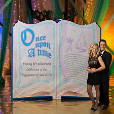 Fairytale Story Book Standee starts out with ONCE UPON A TIME Cardboard Cutout