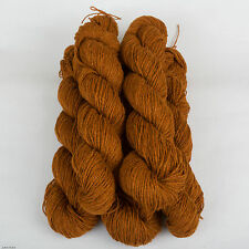 *500g *PURE BRITISH WOOL* DK. Brown.Double knitting.shetland.tweed.yarn.scottish