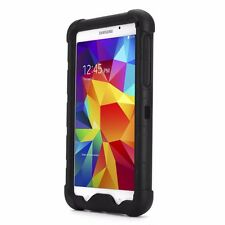 Poetic Turtle Skin Series Bumper Silicone Case For Samsung Galaxy Tab 4 7.0 BLK