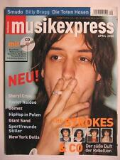 MUSIK EXPRESS SOUNDS 2002 # 4 - STROKES SHERYL CROW GIANT SAND NEW YORK DOLLS