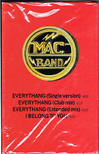EVERYTHANG / I BELONG TO YOU - MAC BAND (CASSETTE -SINGLE) BRAND NEW  SEALED
