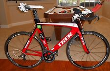 TREK EQUINOX TTX TRIATHLON BIKE 9.5 LARGE 58cm 2010 ADAMO SADDLE MANY UPGRADES
