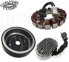 38 Amp Charging System for Harley Twin Cam Softail and Dyna from 2001-06