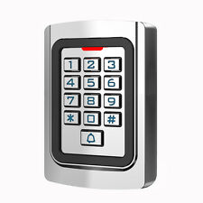 Silicon Keypad Security Entry Door Reader RFID 125Khz EM Card Access controller
