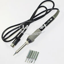 FX-8801 65W Compatible Soldering iron handle+ 5 Tips for HAKKO FX-888 FX-888D UK