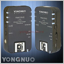 Yongnuo Wireless Flash Trigger YN-622N II TTL for Nikon D800E D760 D700 D610
