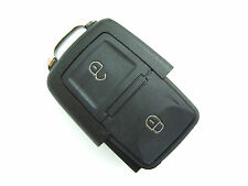 VW Golf Passat Polo Sharan Touran 2 Button Flip Remote Key Fob Case