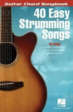 40 Easy Strumming Songs Sheet Music Guitar Chord SongBook NEW 000115972