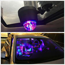LED Ball USB Rotating Stage Light Car DJ Club Disco KTV Party Bar RGB Crystal
