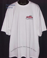 Official FLW Outdoors T-SHIRT SHORT-SLEEVE Fishing 2-Side Print WHITE NWOT 3XL