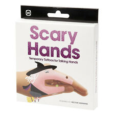 Kids Temporary Tattoo Stickers Scary Hands Childrens Party Fun Activity Set