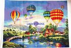 """New finished completed cross stitch""""Colorful balloon""""decro gift free shipping"""
