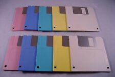 "10 High Density 3.5"" Color Floppy Disks - Formatted"