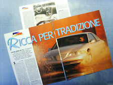 AUTO997-RITAGLIO/CLIPPING/NEWS-1997-LINCOLN MARK VIII '97- 3 fogli