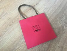 Used - DODO - bolsa de papel Rojo - Red Paper bag -