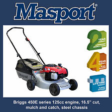 "Masport 200ST Lawn Mower - Briggs 125cc engine, 16.5"" cut - SAVE $90"