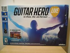 NEW GUITAR HERO LIVE IOS VIDEO GAME CONSOLE ACTIVISION PHONE TABLET PC