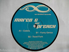 "MARCO G AND DJ PREACH - TRAVEL FUNK EP 12"" RECORD / VINYL - UN-LIMITED - UR-007"